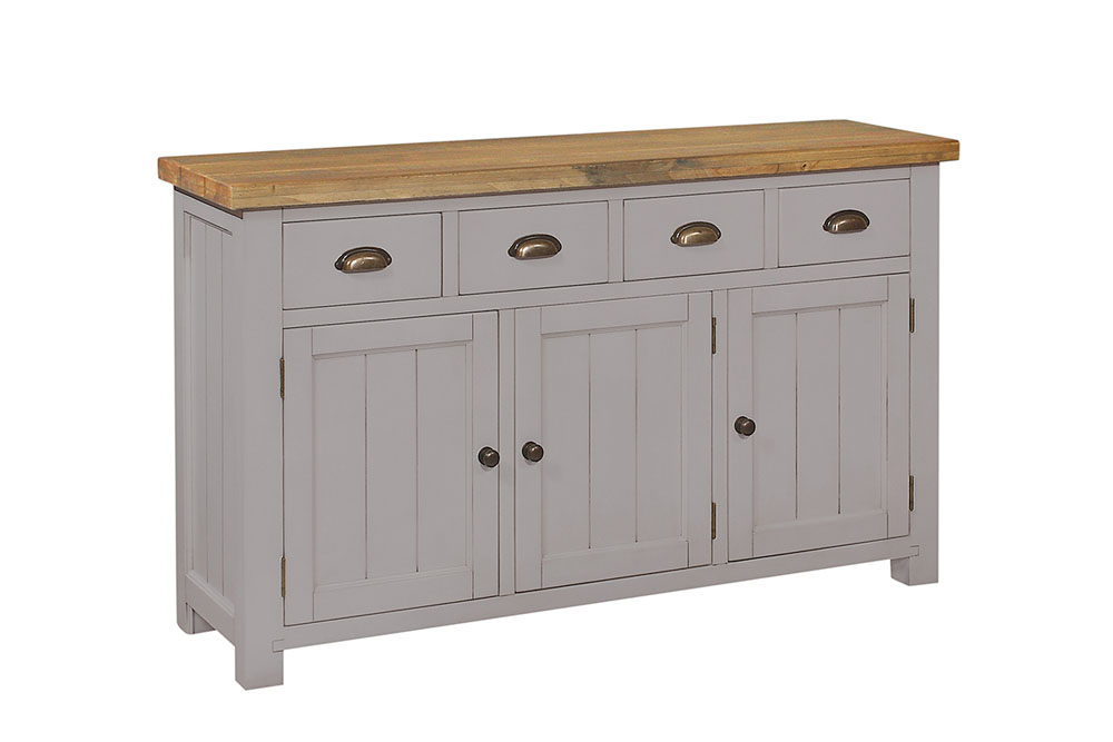 Larger unit in grey - £450.00 - size - 149 x 44 x 86cm - inches - 59 x 17 x 34