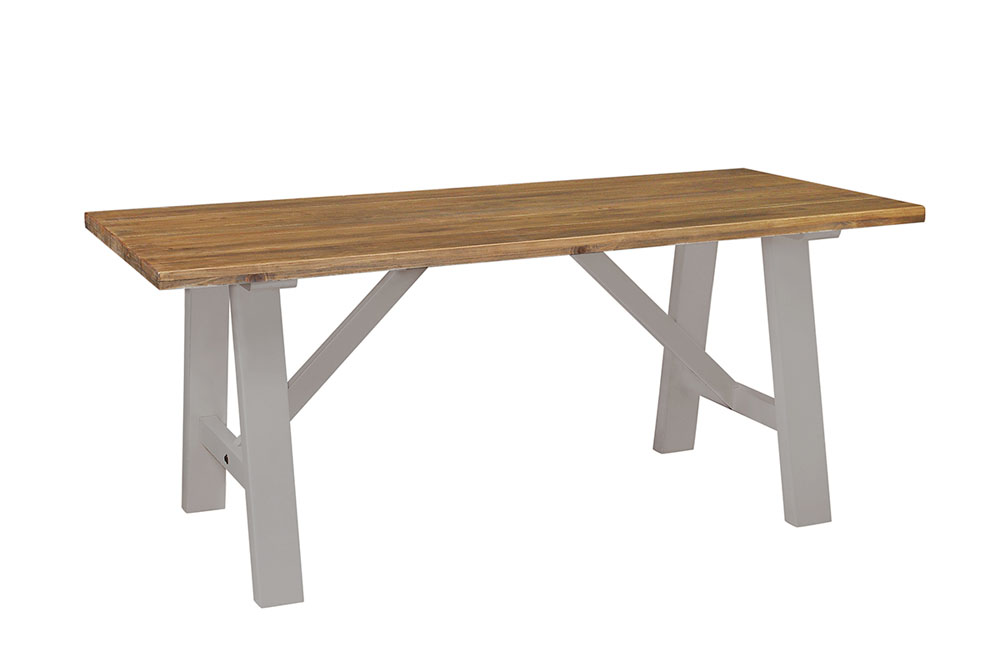 treslte table - £385.00 - size - 180 x 90 x 76cm inches - 71 x 36 x 30
