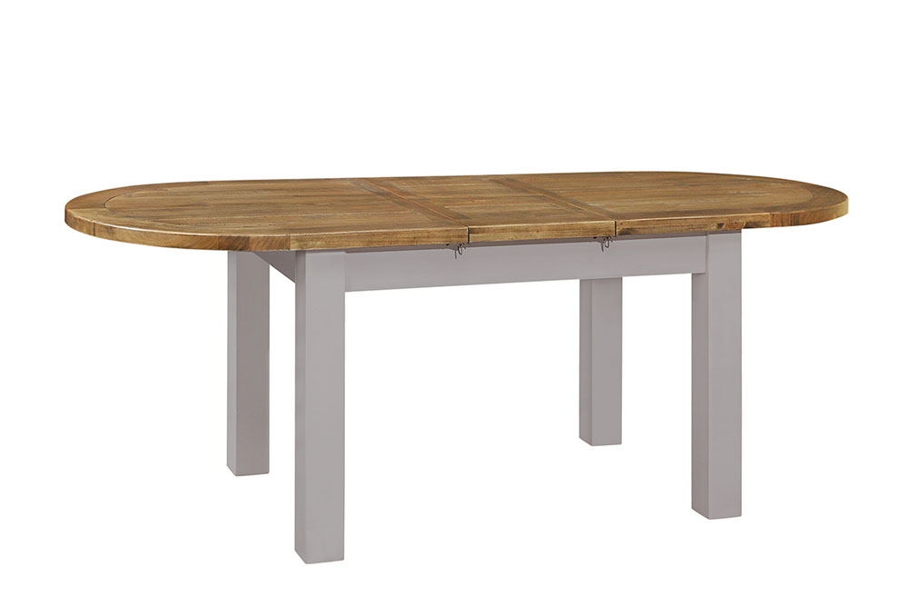oval dining extending table - £525.00- size - 180/200 x 90 x 78cm - inches - 71/87 x 36 x 31