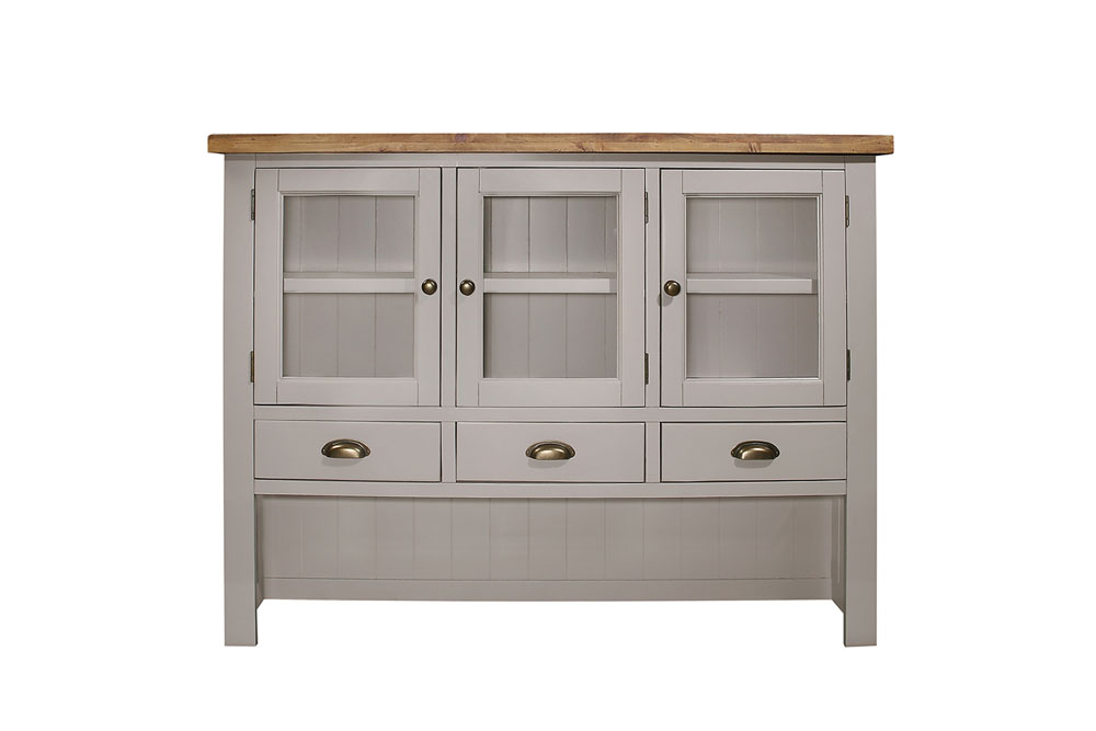 Larger hutch ideal for kitchen - £525.00        - size - 149 x 34 x 110cm - inches - 158 x 13 x 43